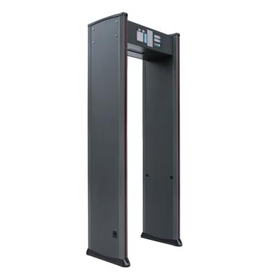 标准带灯12区金属探测安检门(可定制滑轮加装摄像头联网控制闸机)