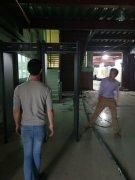 CNC工厂用安检门