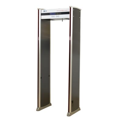 豪华四面带灯12区金属探测安检门(可定制滑轮加装摄像头联网控制